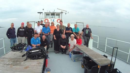 Zeeland weekend 2021 met duikschip De Panda