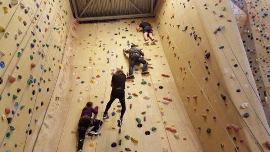 Kaderdag 16 Januari – klimmen en brainstormen