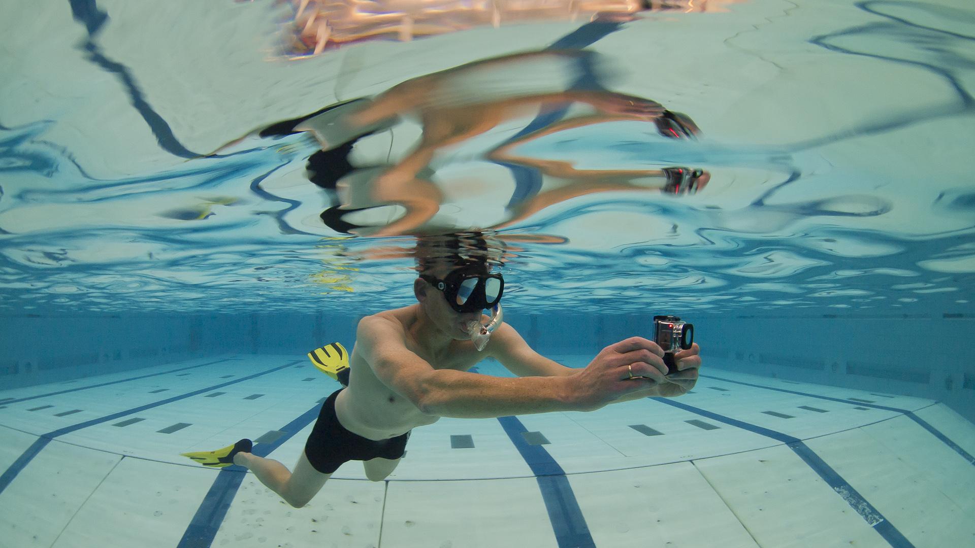 Oefenen met GoPro